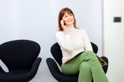 """I just sit in my comfy chair and chat--and, yup, I feel loads better!"" (image from freedigitalphotos.net)"